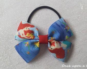 Hand made Disney Princess the little mermaid ariel hair bow