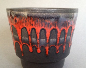 Fohr Keramik, Mid Century Modern ceramic  West Germany Planter 1970s  . WGP.