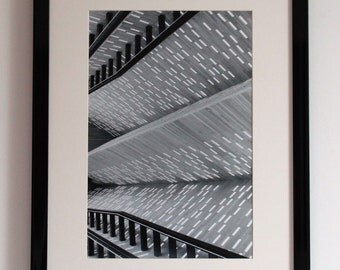 Abstract Architecture, Black and White Photography