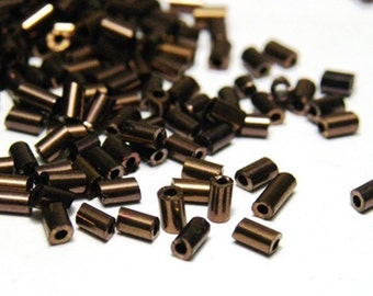 Bugle Beads 3mm - Bronze