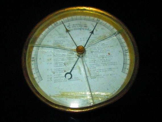 how to clean a glass barometer