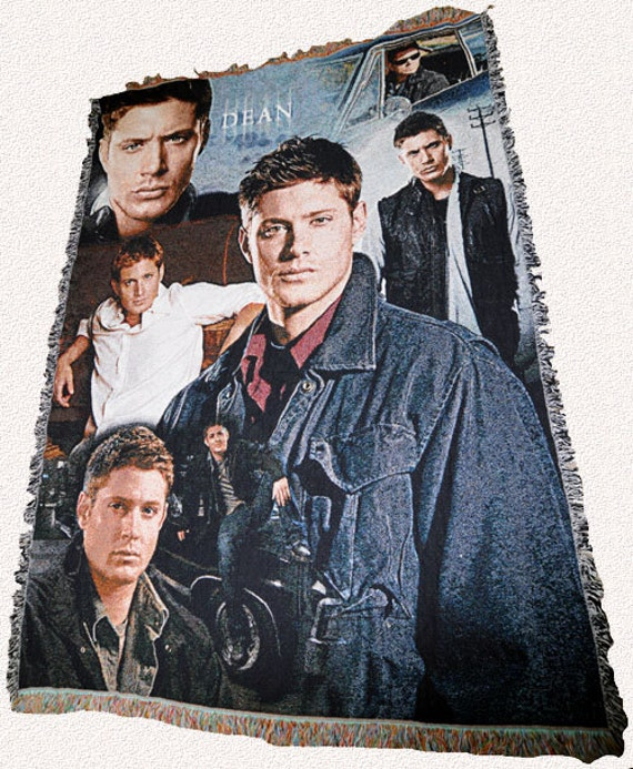 Supernatural Inspired Dean Winchester Throw Blanket