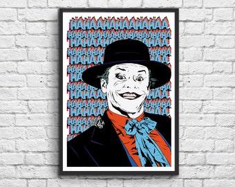 Poster - Joker Jack Nicholson