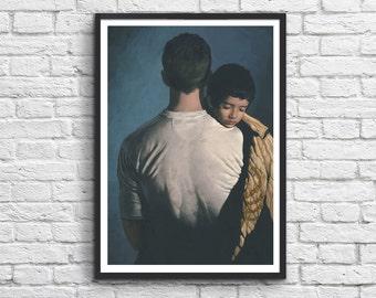 Arte del Poster-cartel 50 x 70 cm - unidad - Ryan Gosling