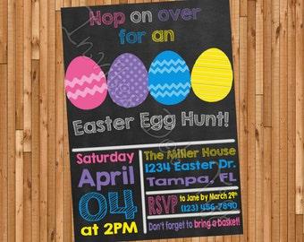 Easter Egg Hunt Printable Invitation