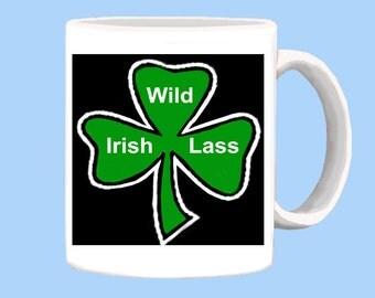Wild Irish Lass mug