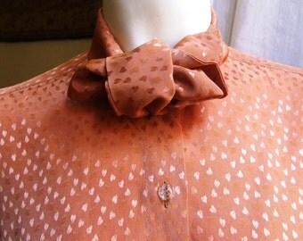 blouse /skirt /chemisette /1970 /tg 42