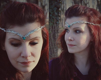 Elven Tiara-DIAdem Elvish made to Commission