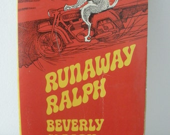 Vintage Book: Runaway Ralph, by Beverly Cleary