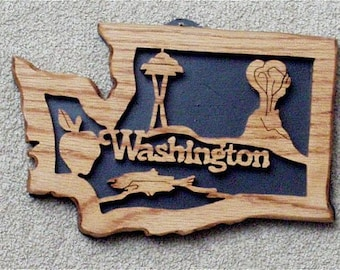 Washington State Plaque