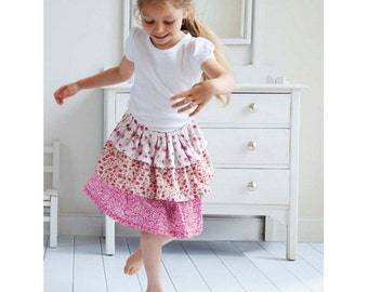 Libby Ra-ra Skirt Sewing Pattern Download (803919