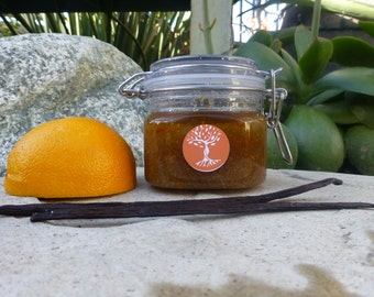 Orange Vanilla Organic Sugar Scrub ~ Dreamsicle