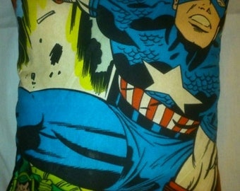 Handmade Marvel captain America cushion