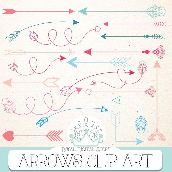 Aztec Arrow Clip Art Arrow Clip Art Quot Arrows Clip Art Quot With Arrow Clipart Hand Drawn Arrows