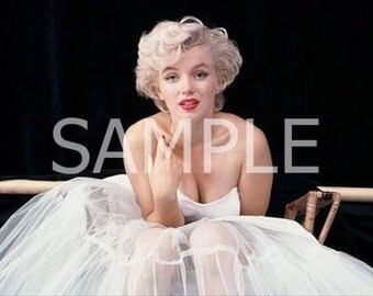 Marilyn Monroe  Fabric Art Quilt  Block  MM444- FREE SHIPPING