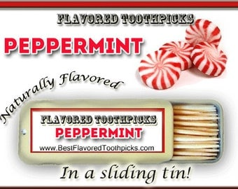 Peppermint flavored toothpicks 70 flavors candy cane peppermint flavored toothpicks 70 flavors all natural sugar free candy negle Images