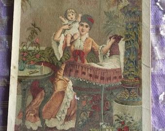 Victorian Trade Card ca.1885