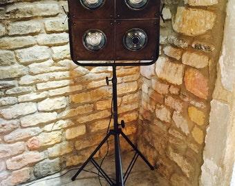 Retro Industrial vintage tripod floor lamp