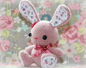 Coniglio Amigurumi Uncinetto : Popular items for amigurumi bunny on Etsy