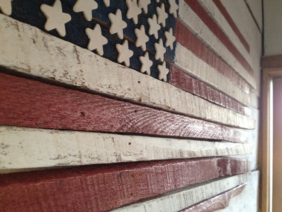 Wood Wall Flag Wood Flag Wood Wall Hanging Wood Wall Art