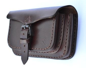 belt bag, leather belt bag, leather hip belt bag, festival belt bag, mens belt bag, women belt bag, steampunk , utility belt bag, colour bag