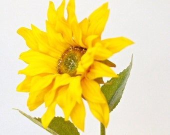 Artificial Real Touch Sunflower