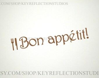 Bon appetit! Wall Decal