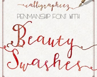 Calligraphy Font Download Modern Calligrapheez Hand Lettered