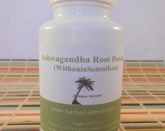 Ashwagandha Root Powder Capsules (500mg Each Capsules)