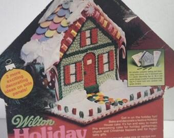 Wilton Holiday House Cake Pan