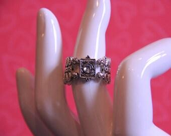 RINGS, STRETCHY RINGS, Custom Made,  Beautiful designed ring, Made in America, item R121