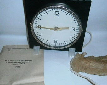 table watch PH-2. procedural watch FC-2/Clock with alarm/Electromechanical watch FC-2