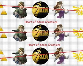 Zelda Bottle Cap Image Sheet