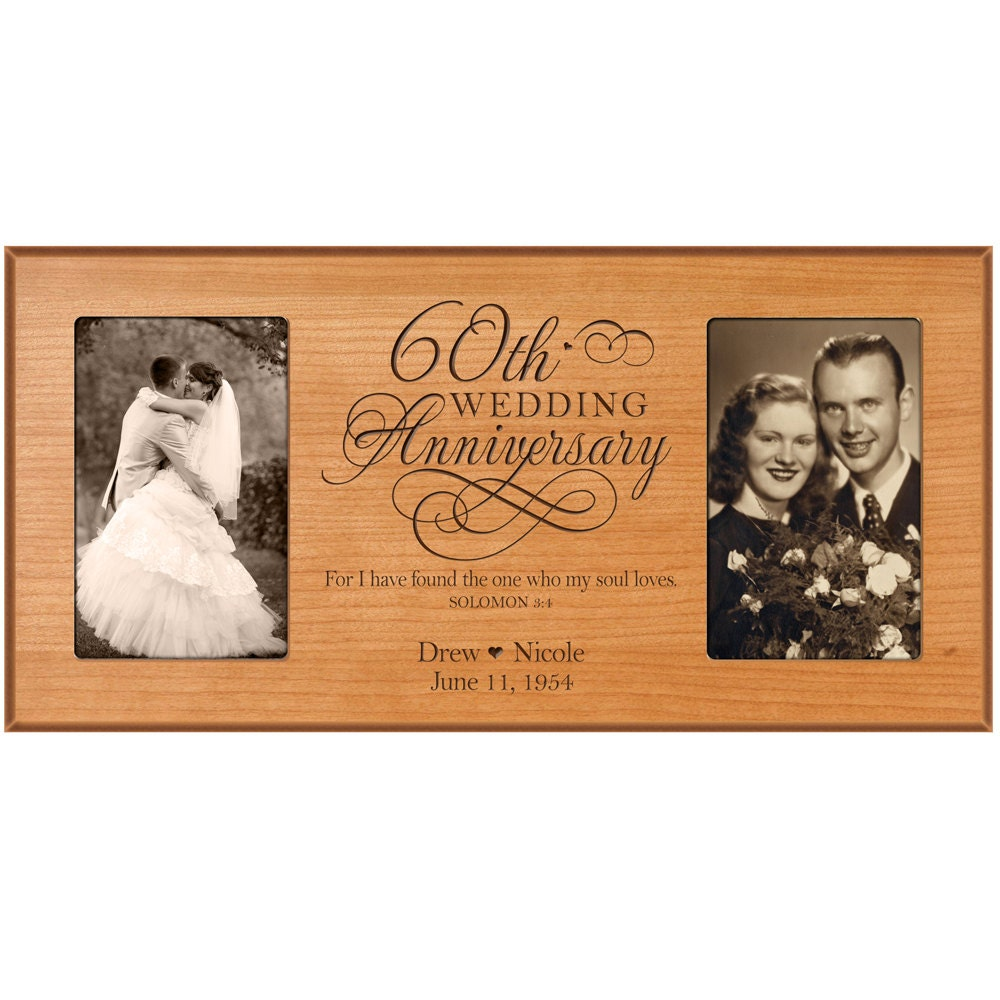 Quantity 1 2 3 4 for 60th wedding anniversary gifts