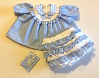 Full dress baby height 74 cm to 9 months