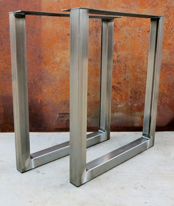 Ready to ship in 1-2 business days!!!!! U Shape Metal Table legs 2x2