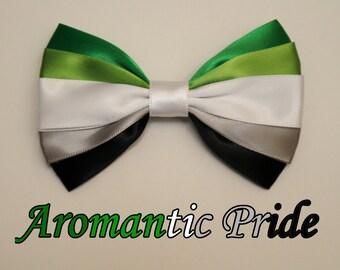 Aromantic Pride Bow