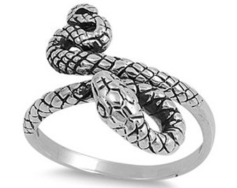 Snake Ring Sterling Silver 925