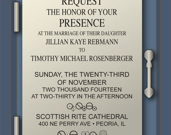 Doctor Who Wedding/Party Invitation