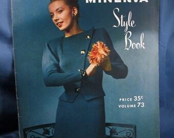 Vintage 1947 Minerva Style Book - Knitting Patterns