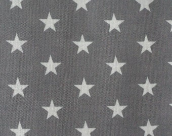 Custom Made Grey Stars Cot Bumper