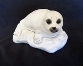 Boehm #40127 SEAL PUP Figurine by Artist Edward Marshall in Pristine Condition!! Made in the USA