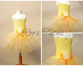Sunshine tutu dress costume, bright, multi-tone, fun and bouncy. Party, Dress up