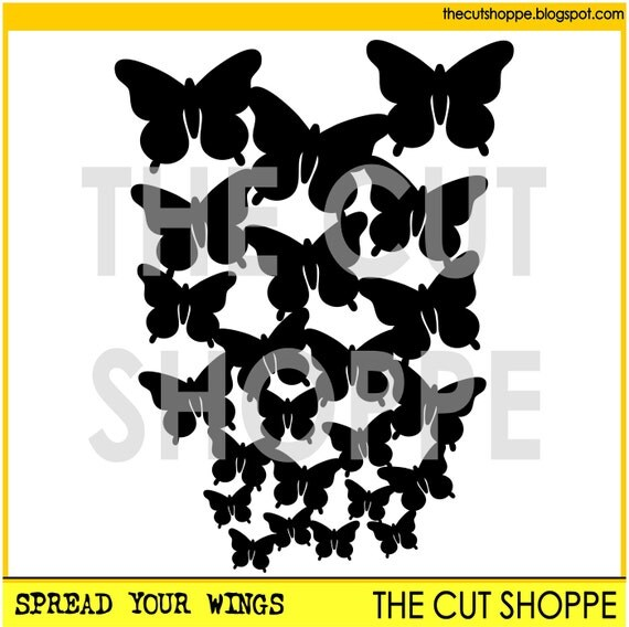 The Spread Your Wings cut file, can be used as a background design for your scrapbooking and papercrafting projects.