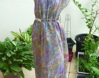 Sari dress- silk