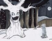 "6x8 ""Nightmare Tree"" Marker Card"