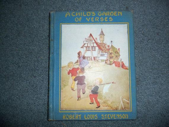 1929 A Child 39 S Garden Of Verses Book Robert Louis