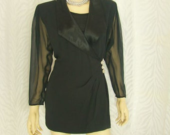 BB Collection- Black Blouse