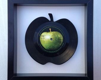John Lennon - 'Imagine' Apple Vinyl Record Art