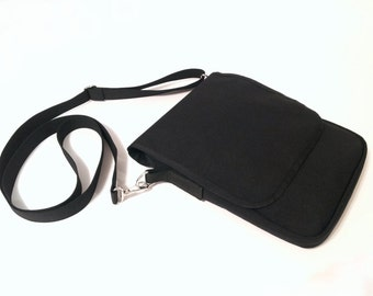 Tablet Shoulder Bag with zippered main compartment  - Made of 1000 Cordura Nylon